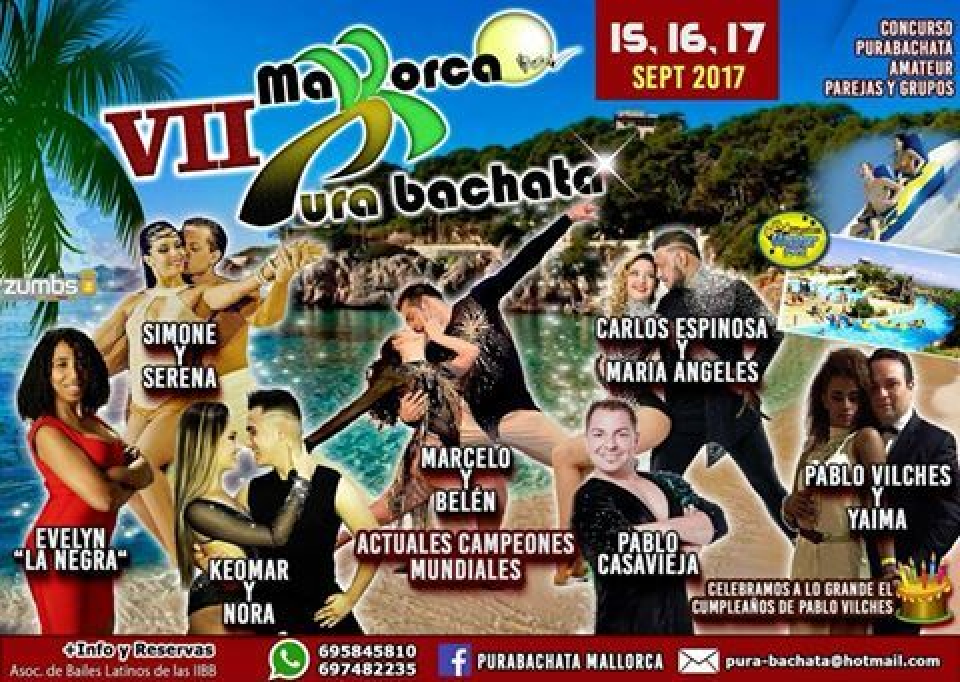 Purabachata mallorca international congress 2017 go dance - Eventos mallorca 2017 ...