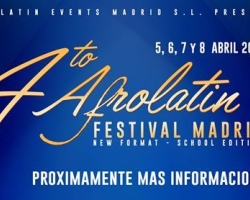 Afrolatin Festival Madrid 2018 (4th Edition)