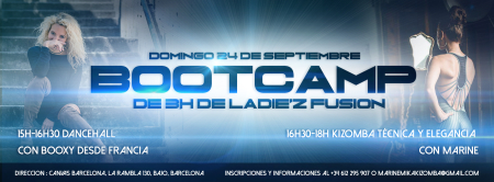 Bootcamp Ladie'Z Fusion (Intensivo 3 horas)