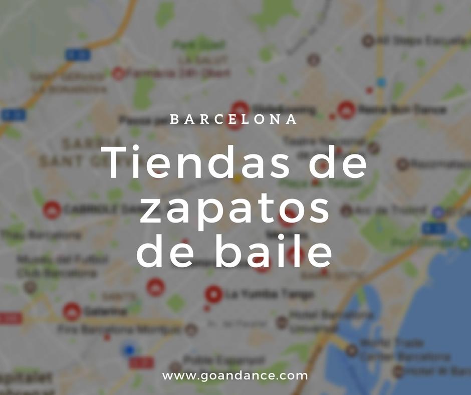 fcff58efb Tiendas de zapatos de baile en Barcelona - go&dance