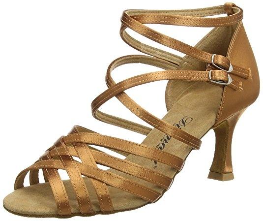 zapato baile mujer dorado para salsa tango y bachata 88dc18d7fd5