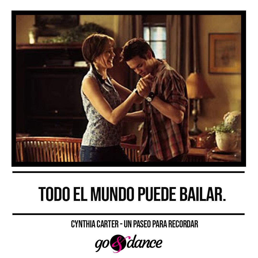 10 Frases En Peliculas De Cine En Imagenes Sobre El Baile Go Dance